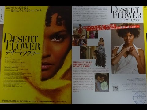 デザート・フラワー 2010 映画チラシ リヤ・ケベデ サリー・ホーキンス