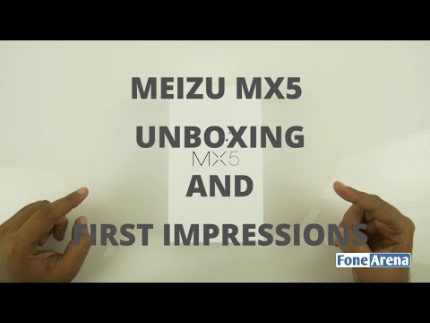 Meizu MX5 Unboxing and First Impressions
