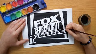 How to draw the FOX Searchlight Pictures logo