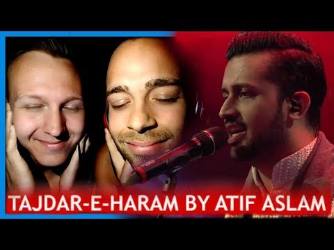 Atif Aslam, Tajdar-e-Haram, Coke Studio Season 8, Episode 1. | Trailer Reaction by Robin and Jesper