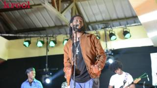 The Prophecy ( Murvin Clelie) performs @ Festival Kreol, Rodrigues 2016