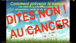 vidéo cancer :  prévenir et dépister le cancer