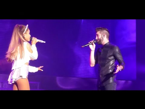 Ariana Grande - One Last Time (Attends-Moi) [Live] ft. Kendji Girac