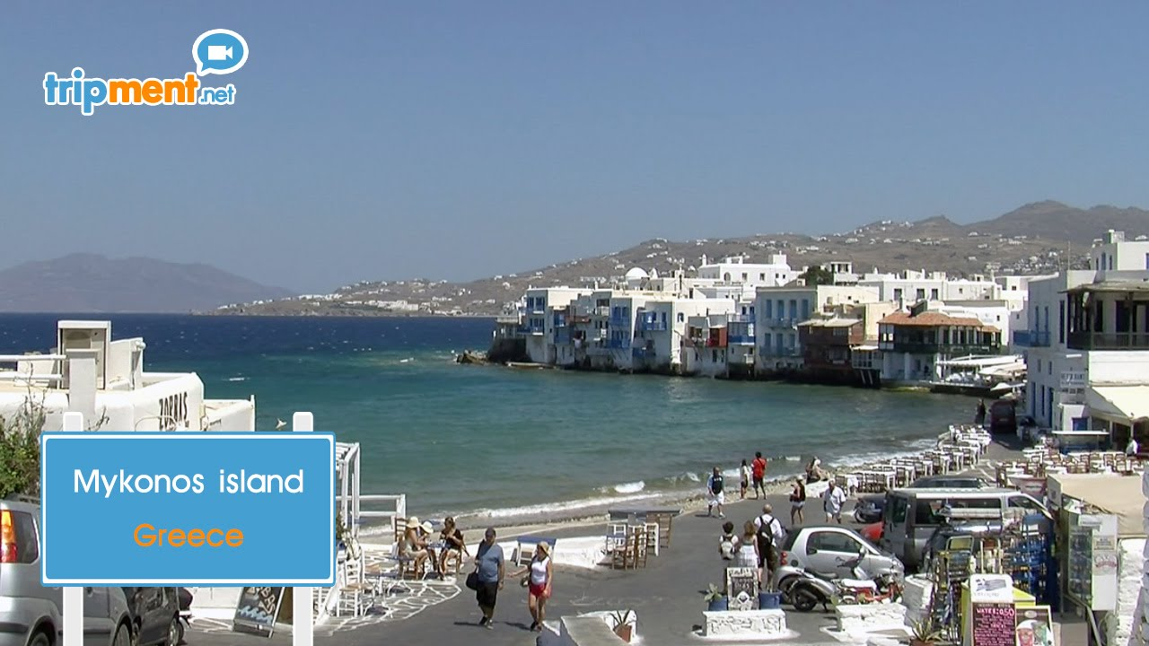 Mykonos island  Greece   YouTube
