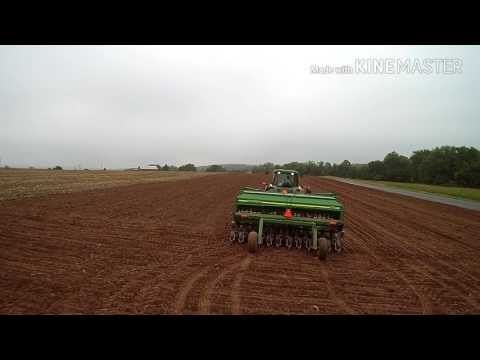 Planting winter wheat October 8th 2016