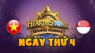Hearthstone globalgames: Viet Nam vs Singapore