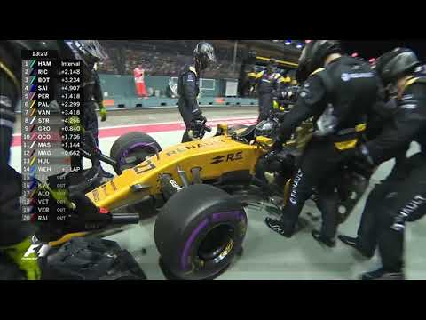 Hamilton wins dramatic Singapore GP as Vettel crashes out