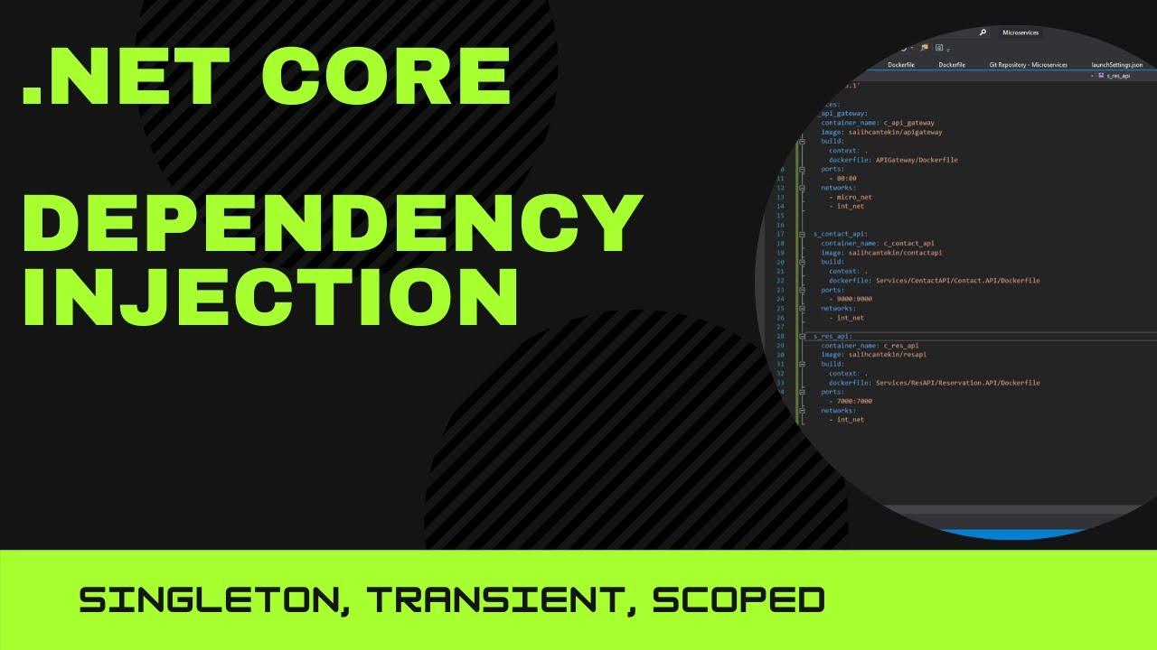 .Net Core Dependency Injection   Transient   Scoped   Singleton