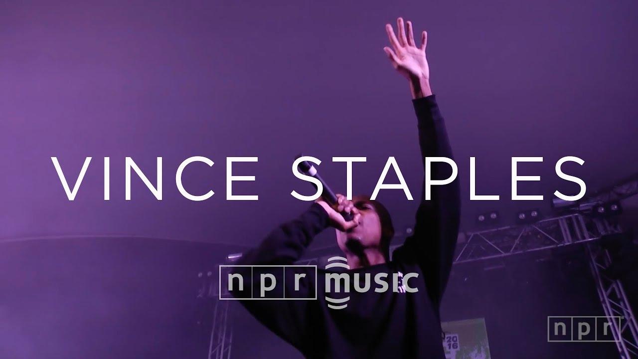 Vince Staples: SXSW 2016 | NPR MUSIC FRONT ROW