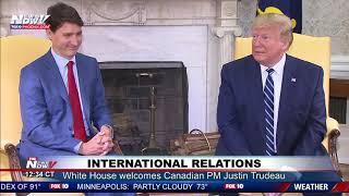 TRUMP WITH TRUDEAU: Talks Iran drone attack; Toronto Raptors possible White House invitation