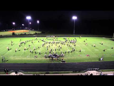 East Hall High School Viking Marching Band Hall County Marching Exhibition 2014