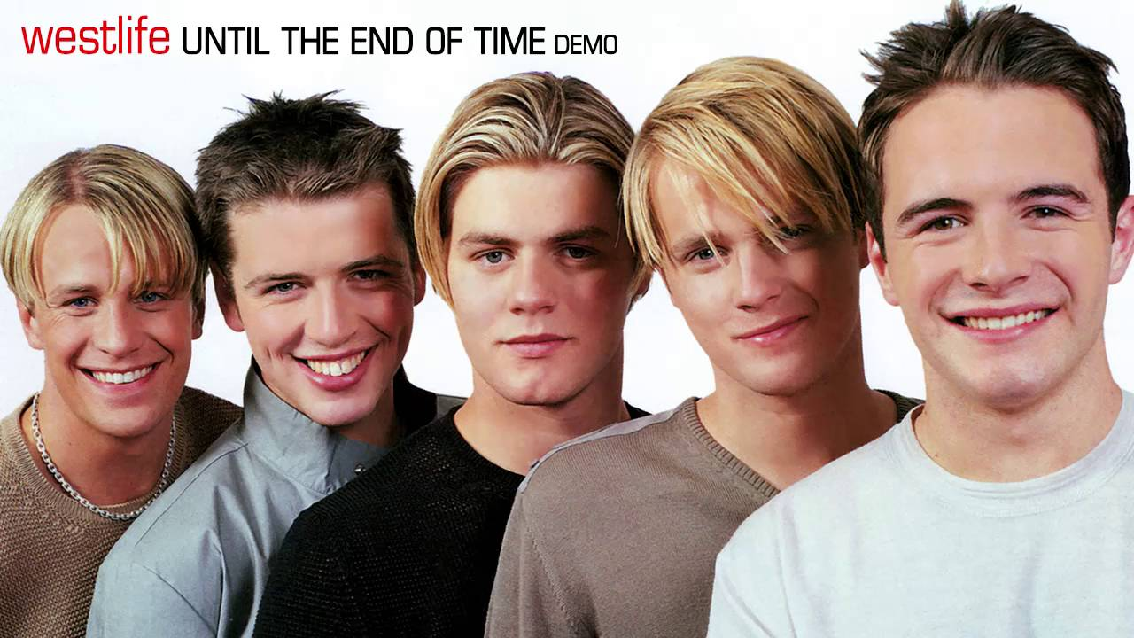 Westlife - Until the End of Time (Demo) - YouTube