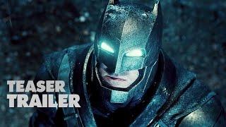 Batman v Superman  Dawn of Justice Official Teaser Trailer 1 2016  Ben Affleck Movie HD