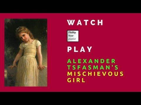 Alexander Tsfasman:  озорная девчонка (Mischievous Girl)