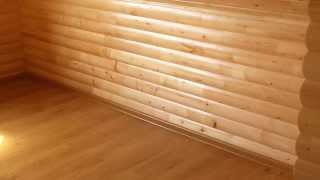Обшивка внутри дома - блок хаус(если вас заинтересовала наша работа, вы можете связаться с нами по тел.: 050-155-7000., 2013-08-08T08:48:35.000Z)