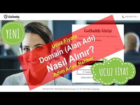 6 dk. Domain Almak: GoDaddy'den Ucuz Domain (Alan Adı) Nasıl Alınır? [2021]