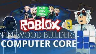 Die FGN Crew spielt: ROBLOX - Pinewood Computer Core