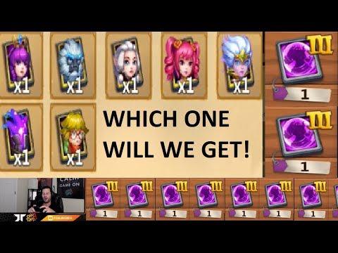 JT's Free 2 Play PRIME Hero Card 3 THE GOODS LETS GOOOOOOO! Castle Clash