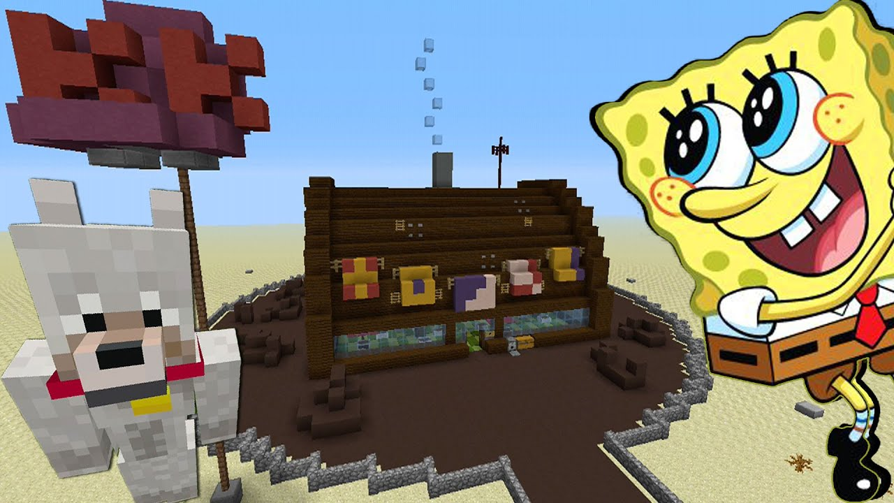minecraft xbox tag spongebob krusty krab youtube