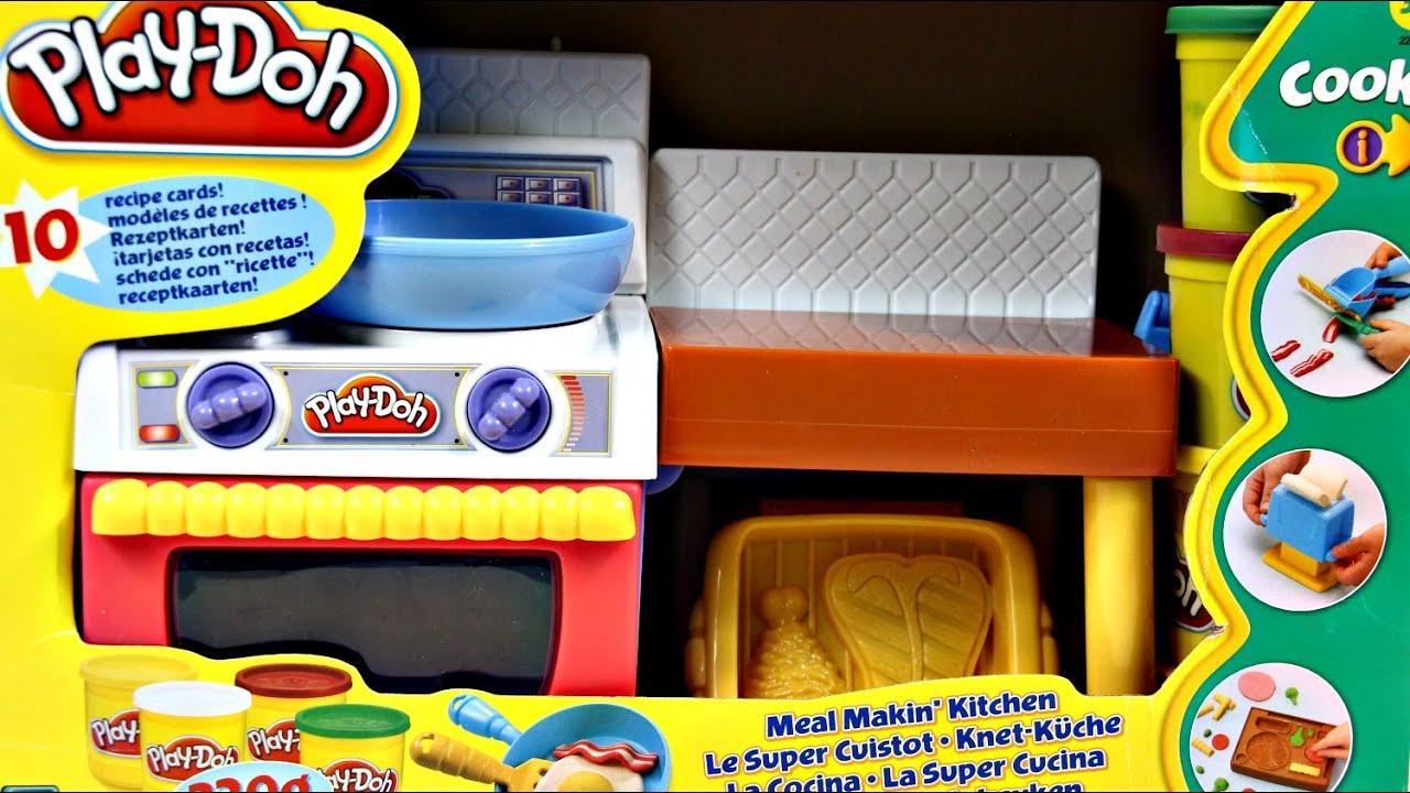 Meal Makin Kitchen Kuchnia Do Przygotowywania Potraw Play Doh 22465 Recenzja