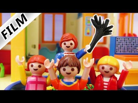 Playmobil Film deutsch   JULIAN HOLT RUTE RAUS - Kita Kinder brav? Kinderserie Familie Vogel