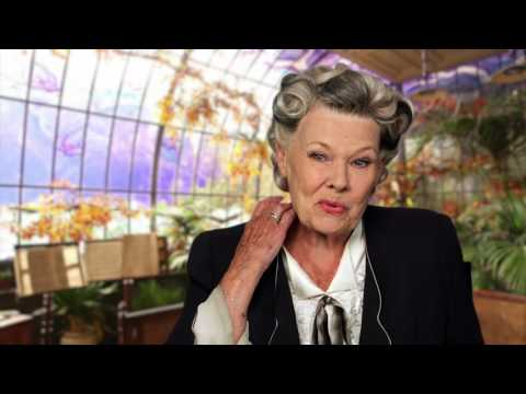 Miss Peregrine's Home for Peculiar Children: Judi Dench On Set Interview