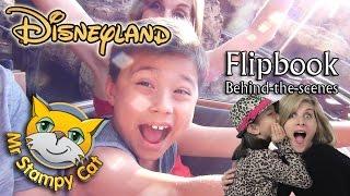 Stampy Surprises Evan, Disneyland & Flipbook Behind-the-scenes