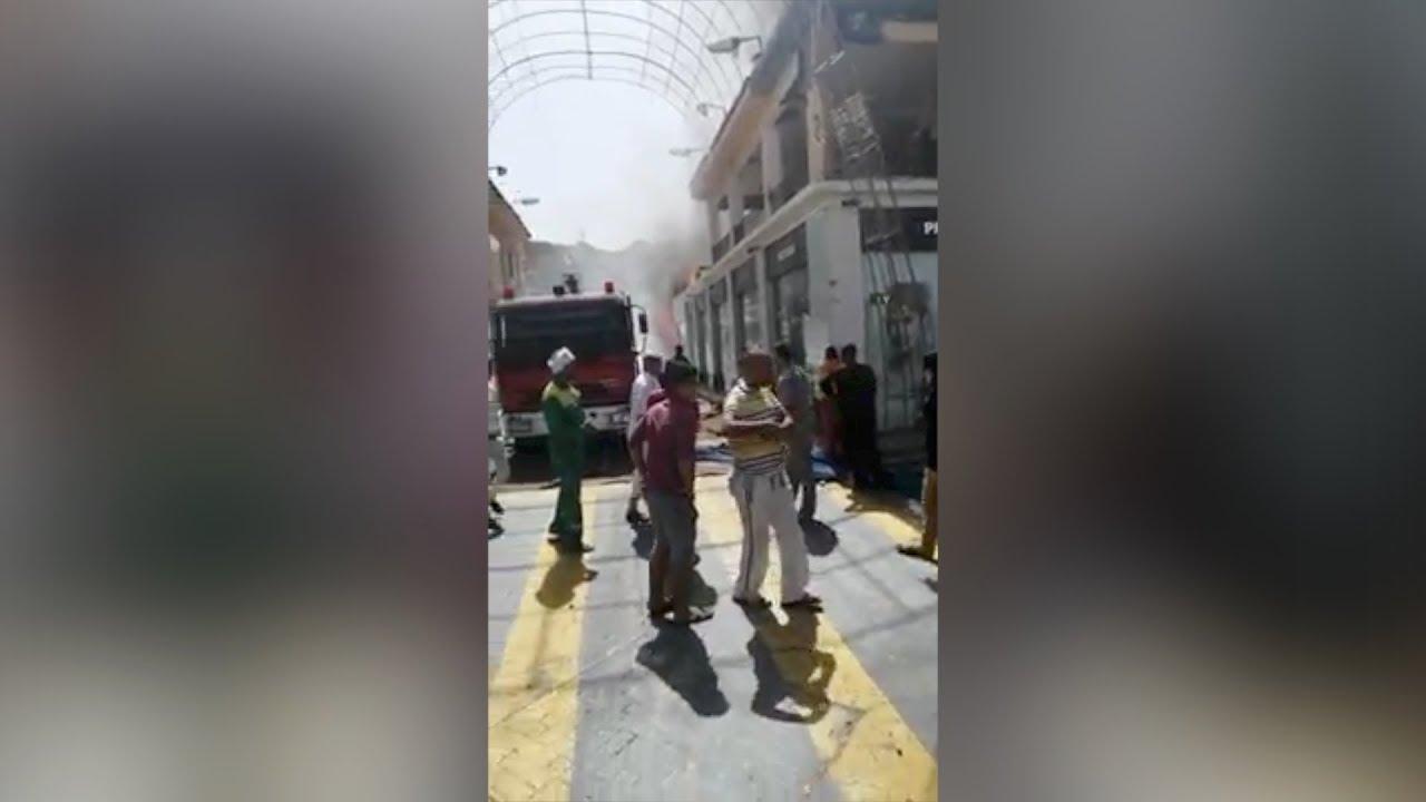 الوطن المصرية:بواسطة 10 سيارت إطفاء.. إخماد حريق هائل بأحد فنادق شرم الشيخ