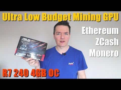 Ultra Low Budget Mining GPU? - R7 240 4GB OC