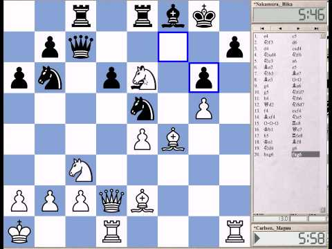 Great Games of Anand and Carlsen Part 12: Carlsen-Nakamura, Wijk aan Zee Tata Steel 2011
