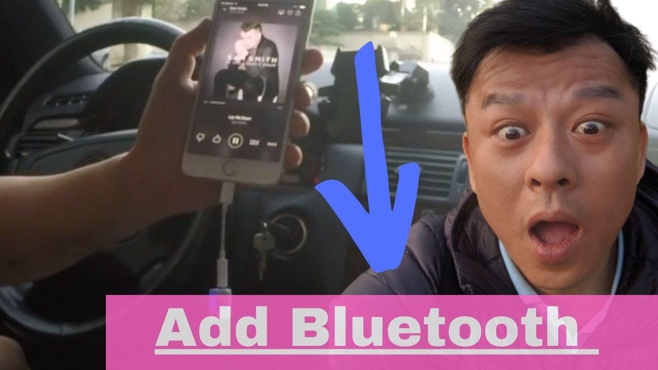 install bluetooth in older car