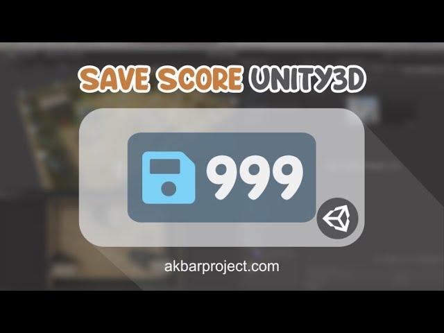Cara Menyimpan Skor di Unity3D Menggunakan Playerperf