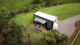 Drone Footage Of The Millennial Tiny House In Katikati New Zealand