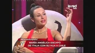 María Angélica Meza huyó de Italia con su hija a Chile es...