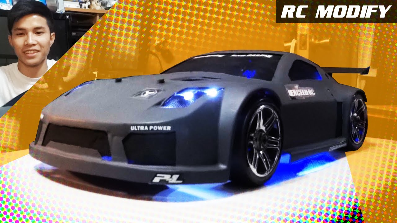 Rc Modify 6 Nissan 350z 1 8 Rc Bloody Mad Drift Youtube
