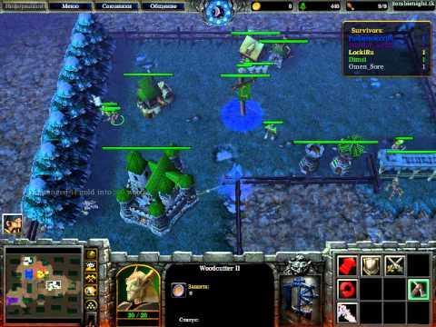 скачать карту zombie night для warcraft 3 frozen throne