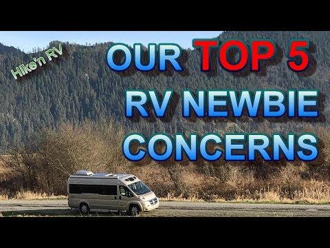 Our Top 5 RV Newbie Concerns Before Purchasing a Roadtrek Zion