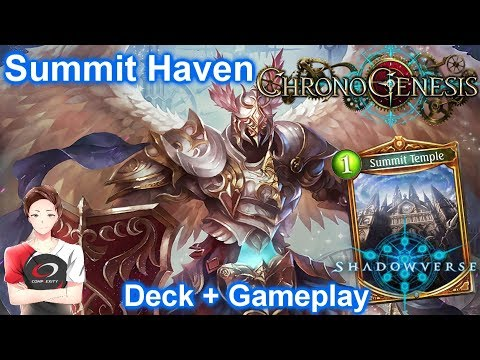 Heavenly Knight is OP! (Summit Haven) | Rotation | Deck + Gameplay 【Shadowverse】