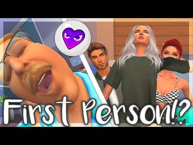 TESTING OUT WICKED WHIMS FIRST PERSON MODE IN THE SIMS 4