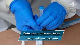 """""""Derivado de diferentes análisis a través del INDRE de la Secretaría de Salud de México y un tercer laboratorio se detectaron ambas variantes en un mismo paciente"""", informó el gobernador del estado, Omar Fayad"""