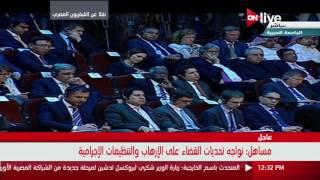 كلمة وزير خارجية الجزائر خلال ترأسه الدورة الـ 147 لقمة وزراء الخارجية العرب