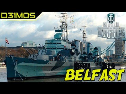 WoWs: Cruzador PREMIUM HMS BELFAST!