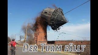 Wasserturm fällt 4. April 2018
