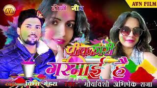 bhojpuri holi song 2019 || मेरा बाहर से आया भाई है || बिभा मेहरा & मौर्यवंशी अभिषेक राजा