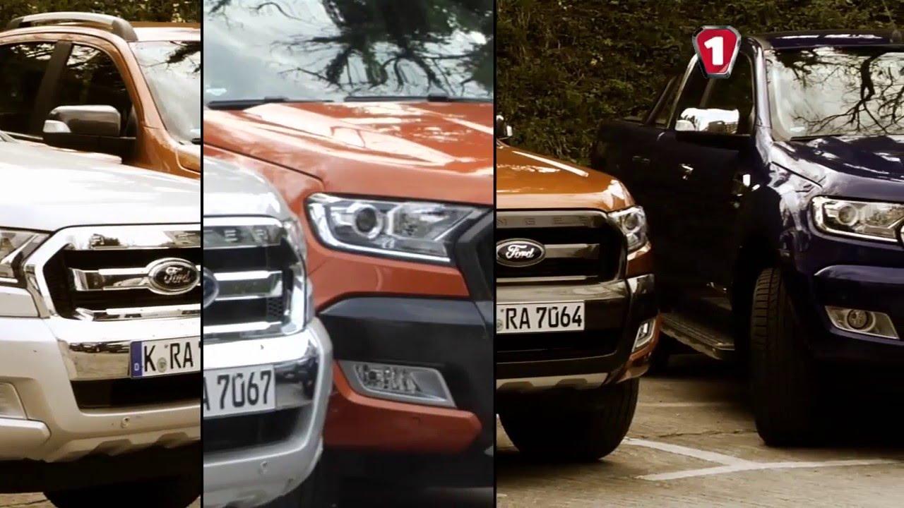 "Эксклюзив ""АвтоцентрTV"" Тест-драйв Ford Ranger"