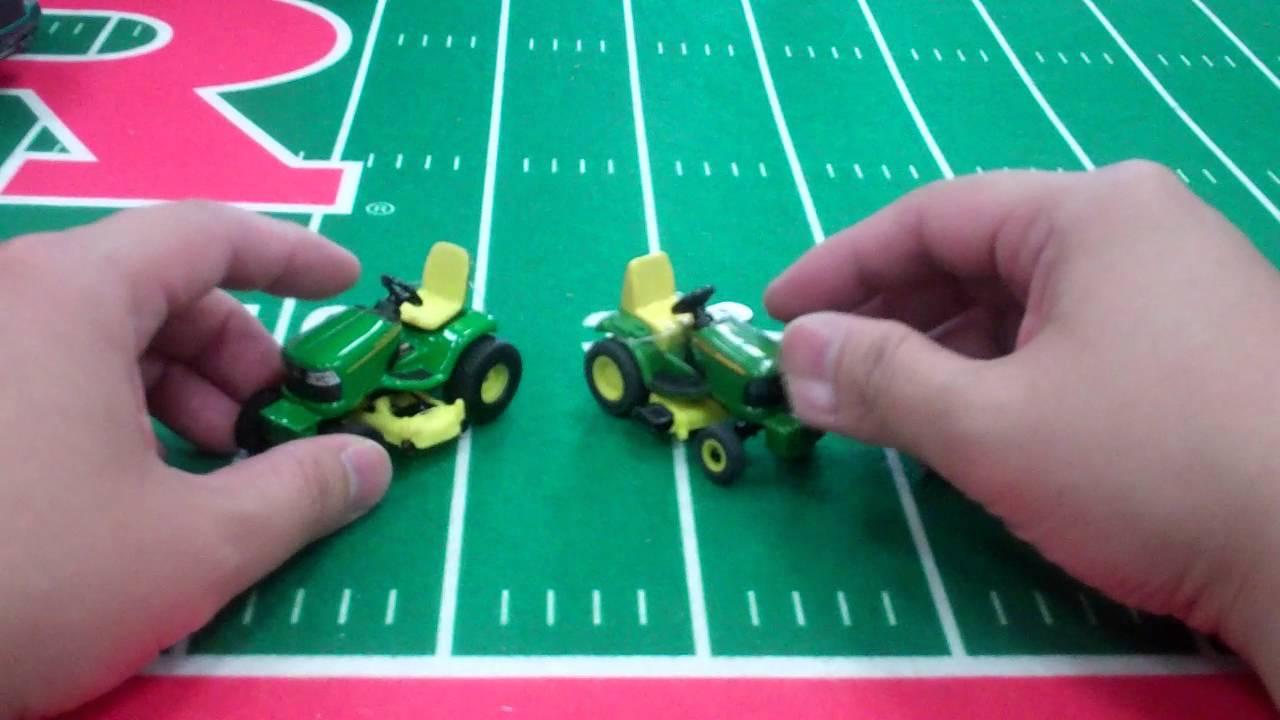 John Deere Gifts >> Tomy Ertl John Deere Lawn Mower Diecast Toys - YouTube