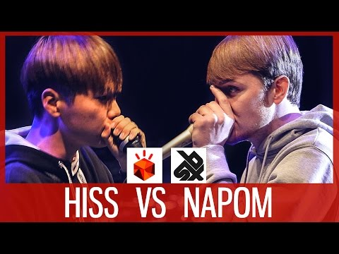 HISS vs NaPoM | Grand Beatbox SHOWCASE Battle 2017 | FINAL