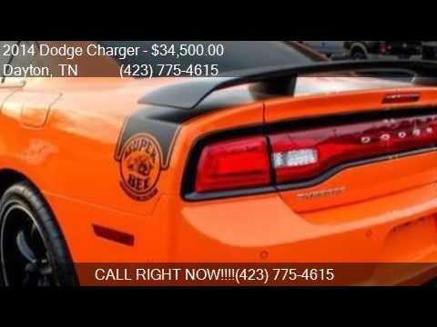 2014 dodge charger srt8 super bee 4dr sedan for sale in dayt youtube. Black Bedroom Furniture Sets. Home Design Ideas