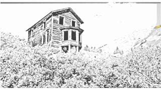 Auto Draw 2: Bay Window House, Animas Forks Ghost Town, Colorado