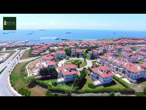 Royal Deniz - Aerial View – Villa Property For Sale Beylikdüzü, İstanbul – Turkey